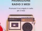 PROMOZIONE IN RADIO PACCHETTO 3M