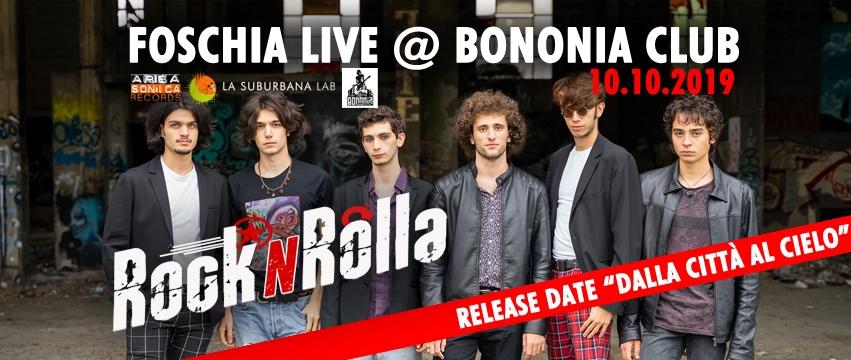 """La giovane band Foschia presenta il suo nuovo album: """"Dalla Città al Cielo"""""""