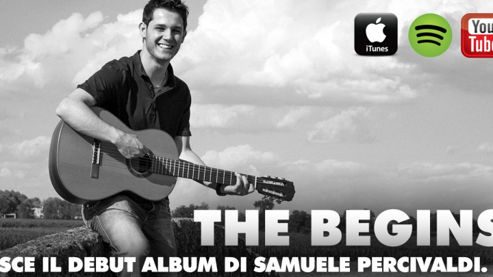 "Samuele Percivaldi al debutto con ""The Begins"""