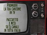 PROMOZIONE IN TV – 3 MESI